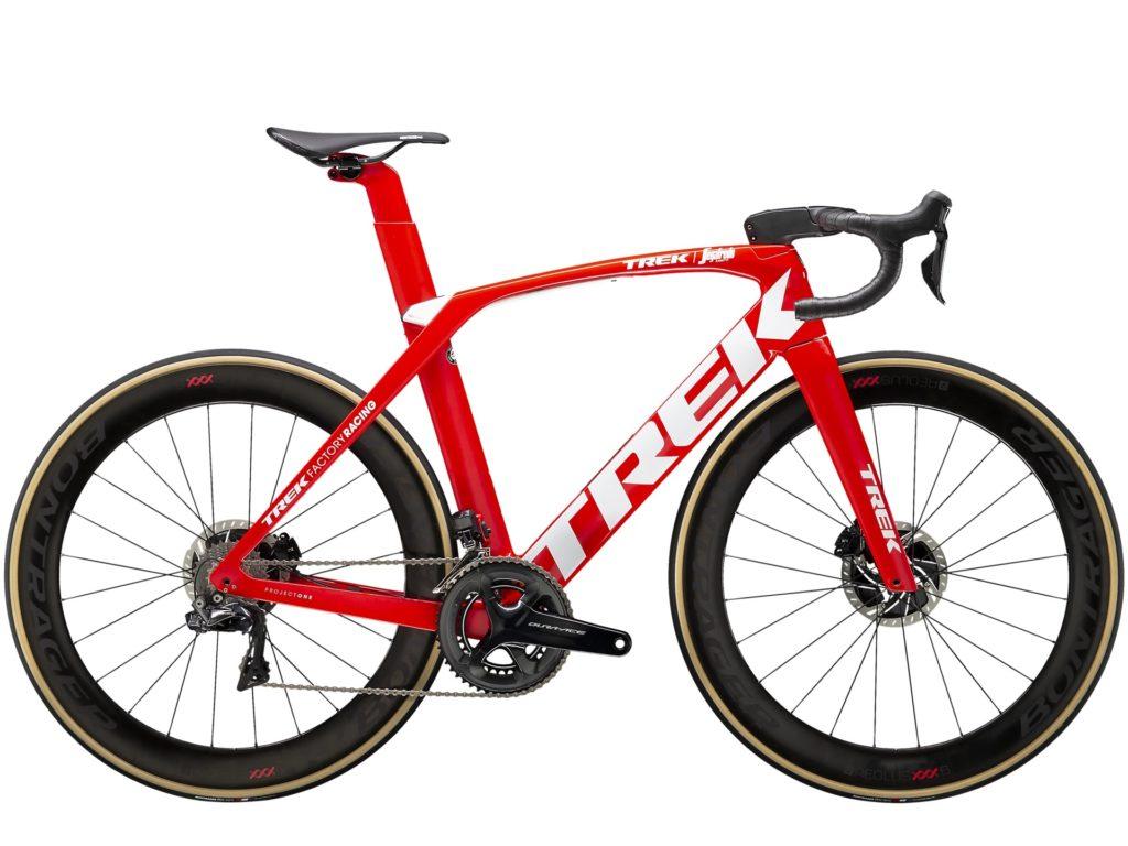 Le Trek Madone SLR est une bête de course. Normal donc d'être dans les 5 meilleurs vélos route !©Trek