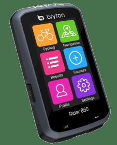 Un bel écran tactile de 2.8 pouces et en couleur, merci Bryton !©Bryton
