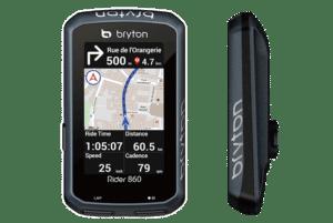 Vous pouvez également naviguer avec le Bryton 860.©Bryton