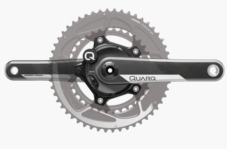 Le Quarq DZero DUB démocratise l'utilisation du capteur de puissance.©Quarq