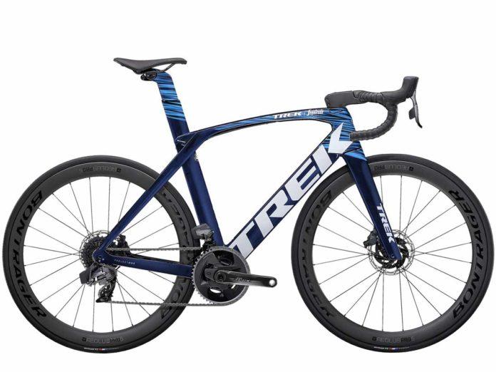 Le vélo route Trek Madone SLR 2021 augmente son potentiel.©Trek