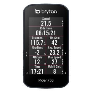 Le Bryton 750 dispose d'un écran couleur tactile.©Bryton