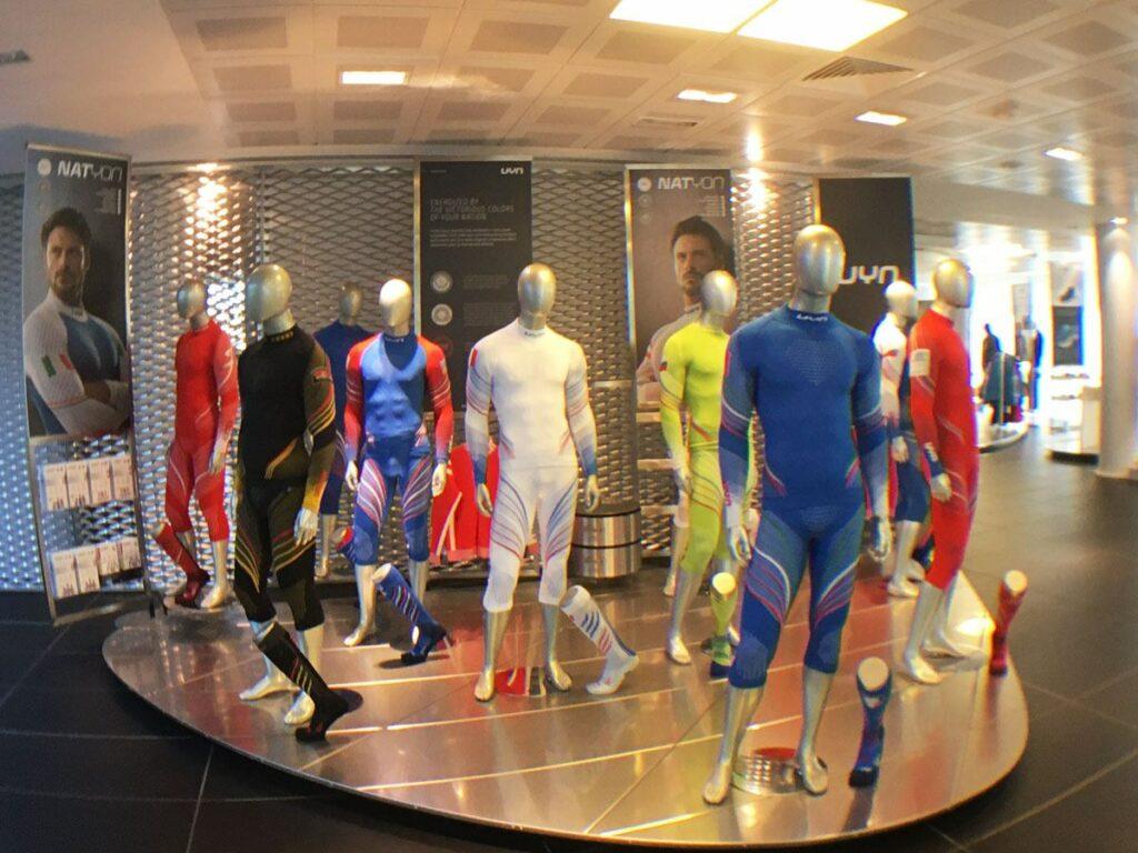 La gamme est large en sous-vêtement UYN.