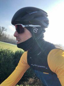 Il y a de la couleur dans la tenue vélo Gobik Hiver.
