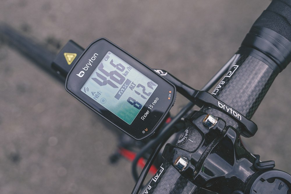 Le Rider 15 NEO trouve facilement sa place sur votre vélo.©Bryton