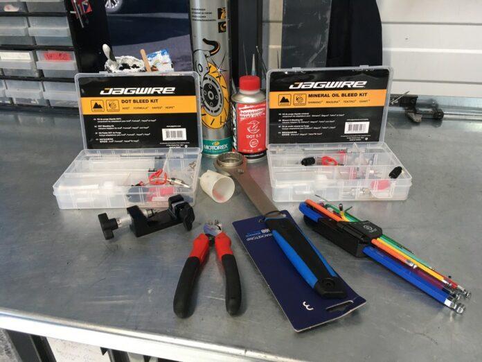 Les outils pour vos freins à disques vélo et VTT.