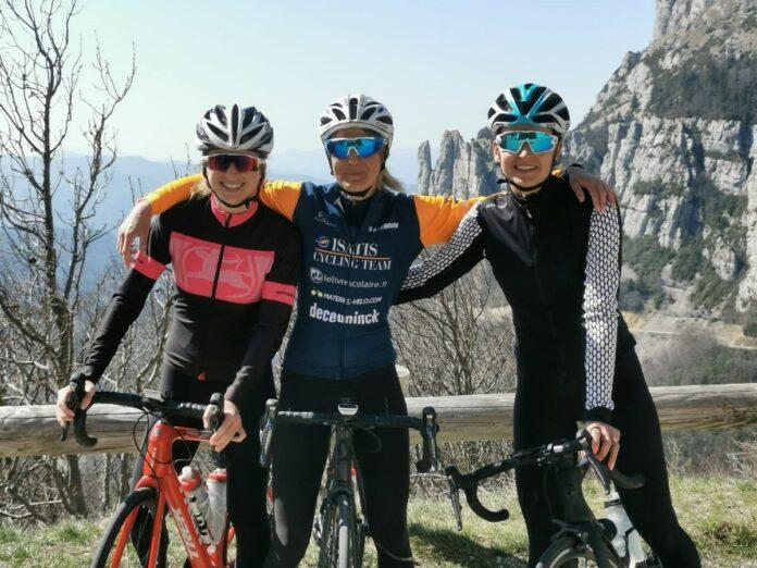 Le cyclisme féminin a le sourire !©Sophie M