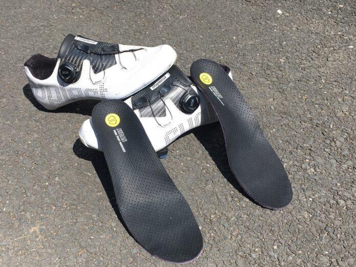 Les semelles pour chaussures vélo Sidas apportent du confort et du rendement