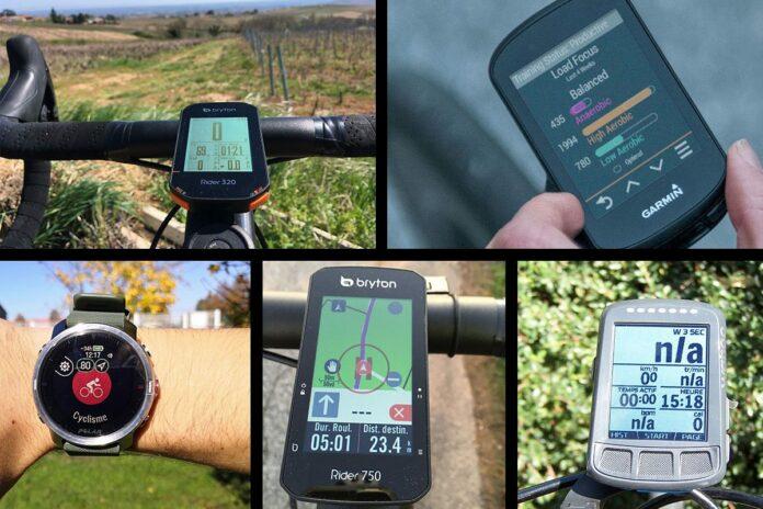 Les 5 meilleurs compteurs GPS vélo.