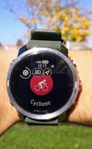 La montre Polar Grit X est une mine d'informations impressionnante.