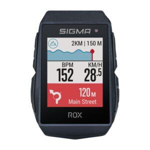La navigation est bien présente sur le Rox 11.1.©Sigma Sport