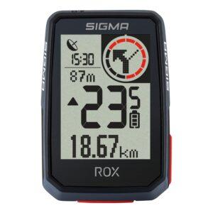Le compteur vélo GPS Sigma Rox 2.0 donne accès au GPS vélo.©Sigma Sport