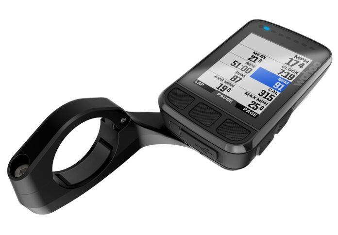 Le compteur Wahoo Elemnt Bolt prend de la couleur sur son écran de 2.2 pouces.©Wahoo Fitness