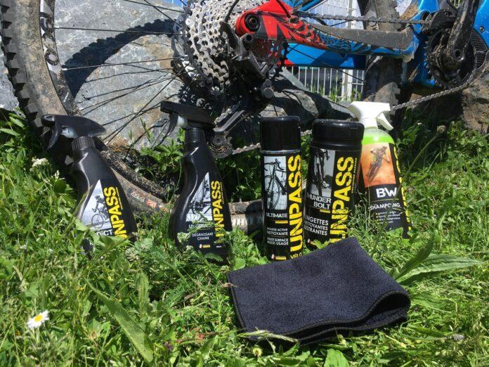 Kit nettoyants vélo Unpass : le made in France