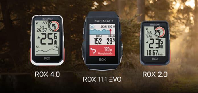 Compteur vélo GPS Sigma : une gamme complète©Sigmasport