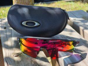 Les lunettes vélo Oakley Radar avec le verre Prizm Road sont justes parfaites !
