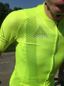 Le maillot est fin et évacue parfaitement l'humidité.©SG